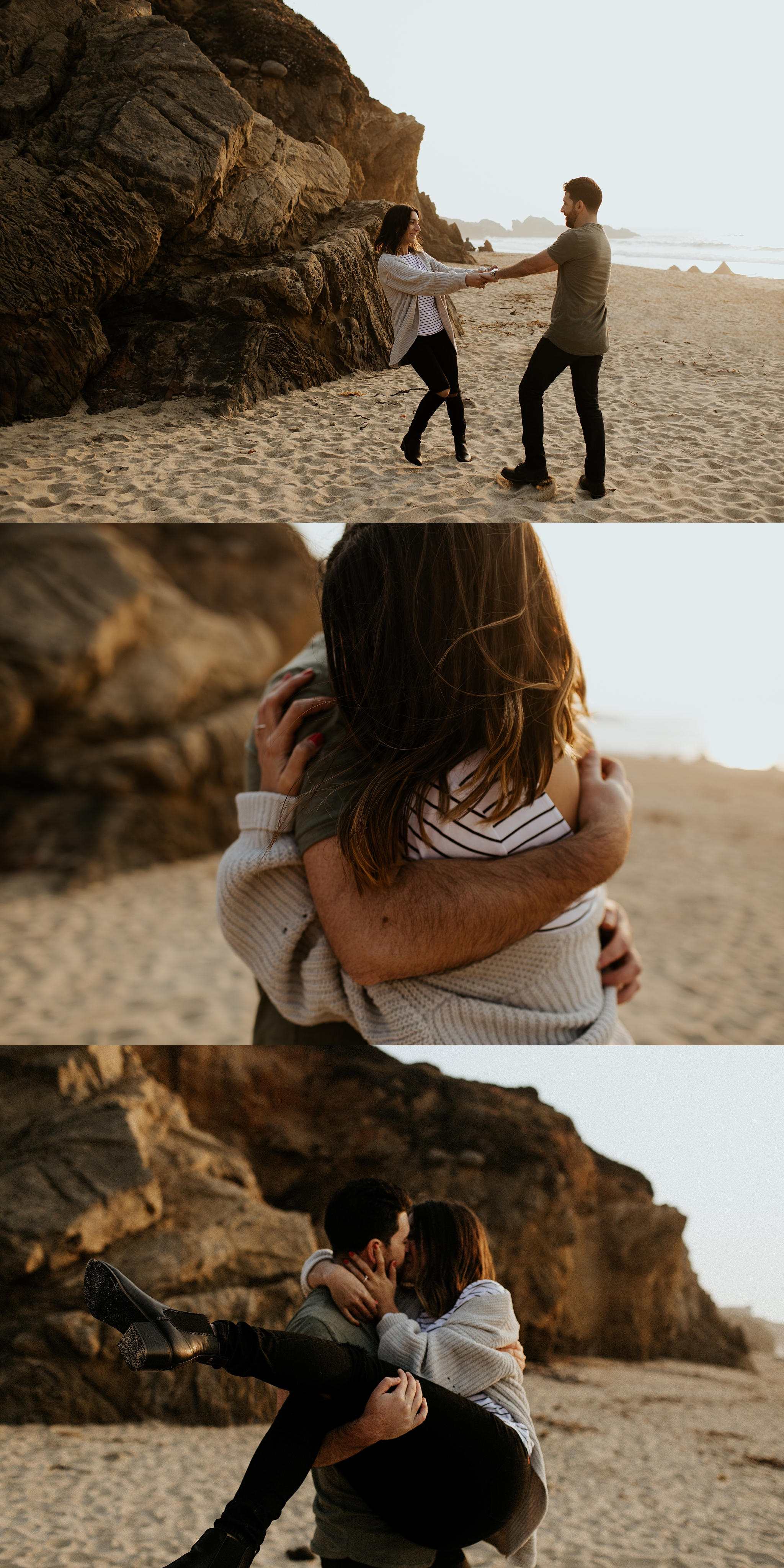 Fall Bohemian Big Sur California Engagement Session by Trin Jensen Photography_0017.jpg