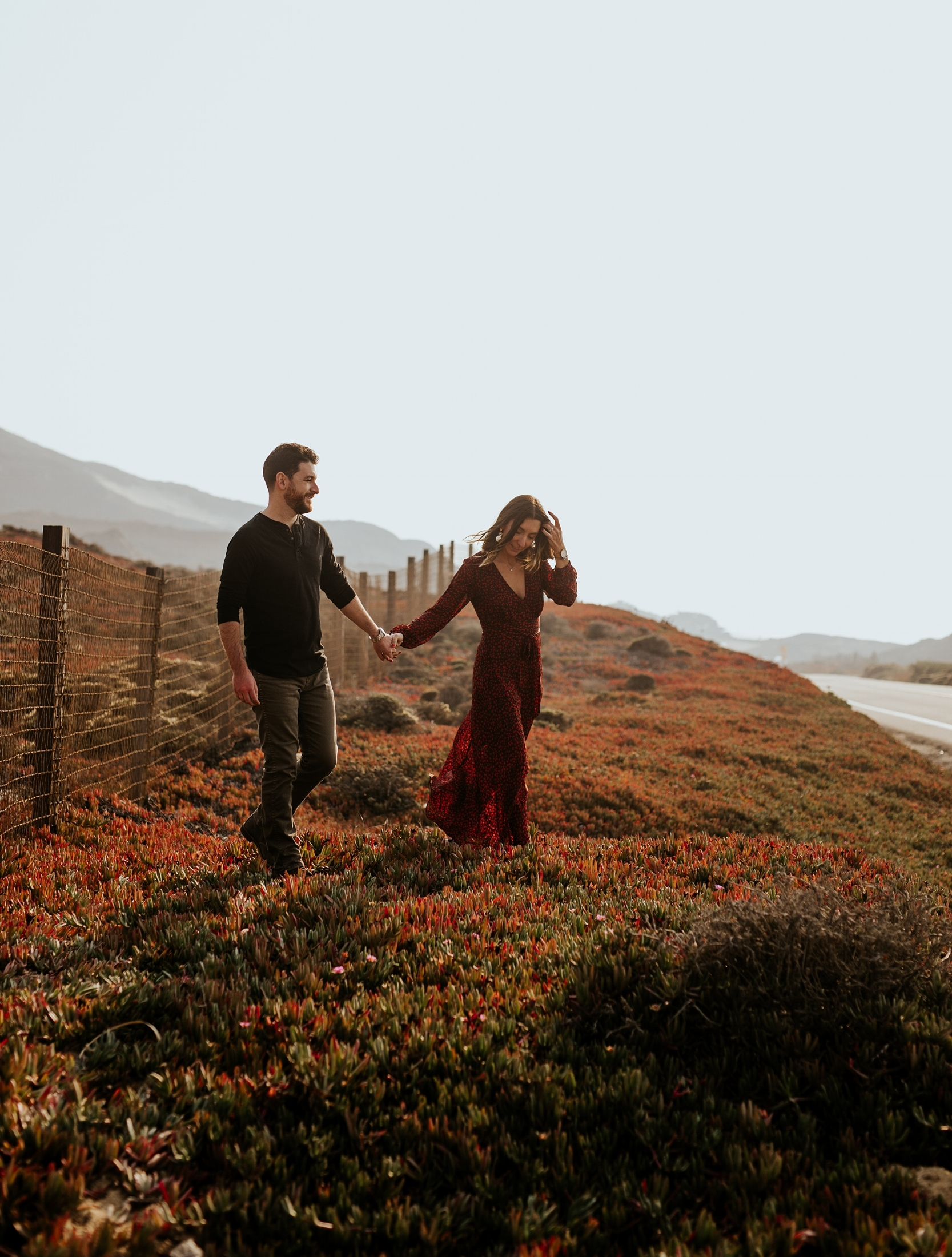 Fall Bohemian Big Sur California Engagement Session by Trin Jensen Photography_0006.jpg