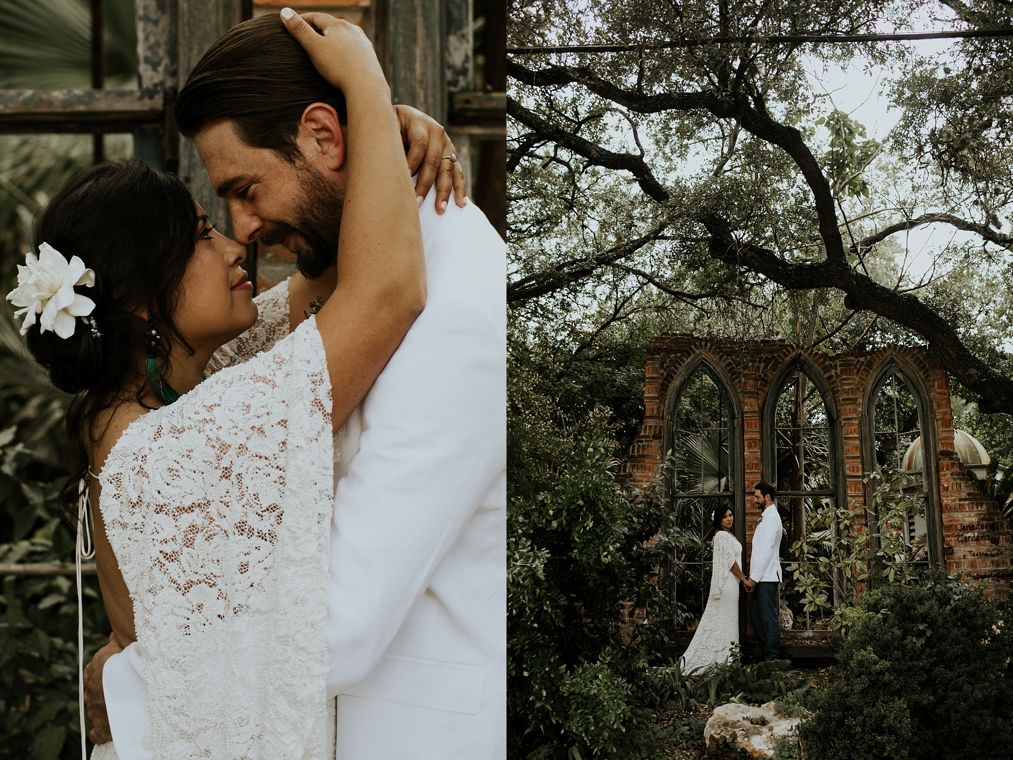 Vibrant Spring Wedding at the enchanting Jennifer's Gardens in Downtown Austin Texas_0018.jpg