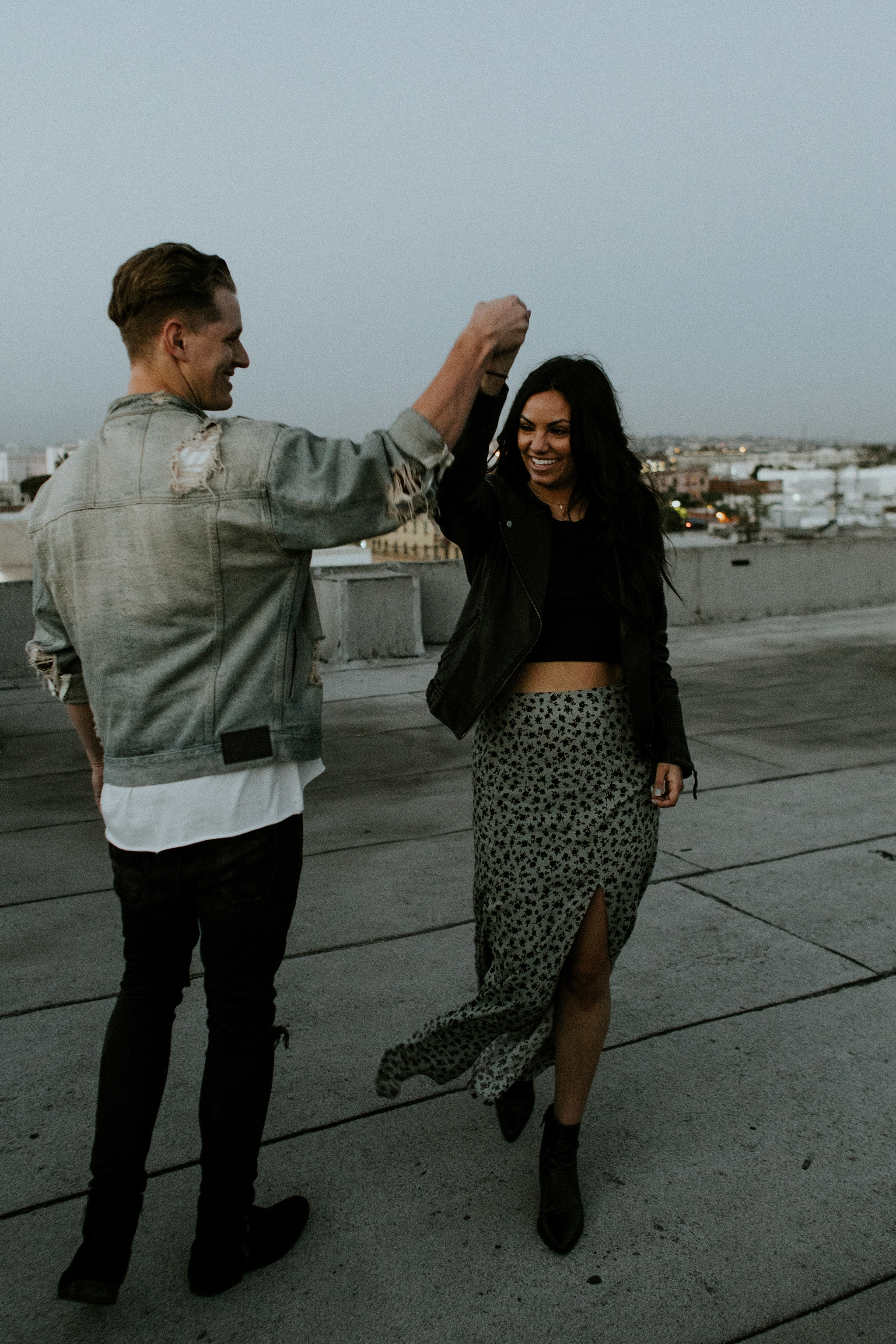 DTLA Rooftop Engagement Session by Trin Jensen Photography  - Los Angeles Wedding Photographer_0048.jpg