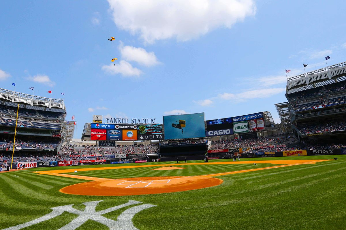 Yankee Stadium - Courtesy USA Today