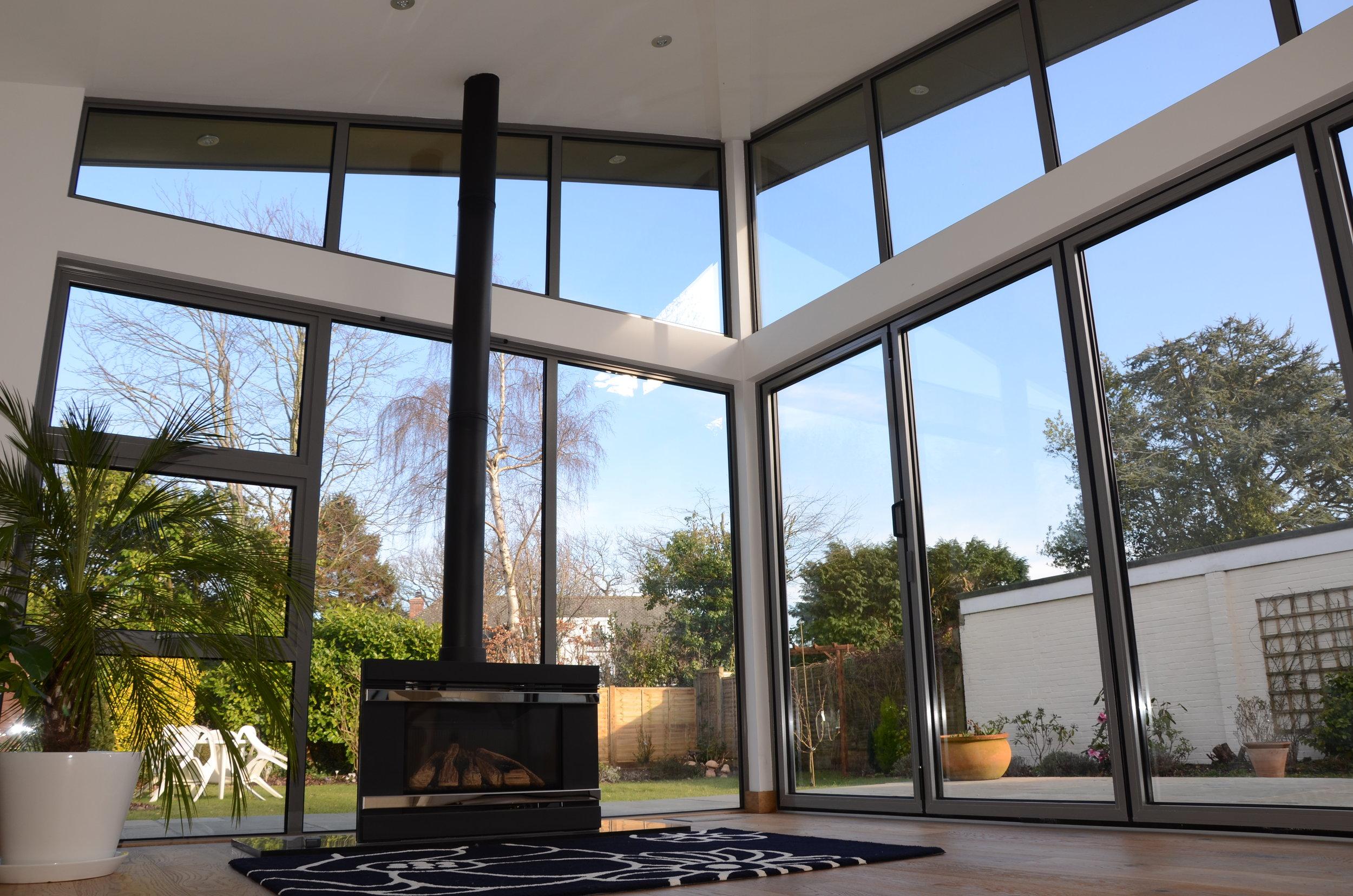 House extension, garden room