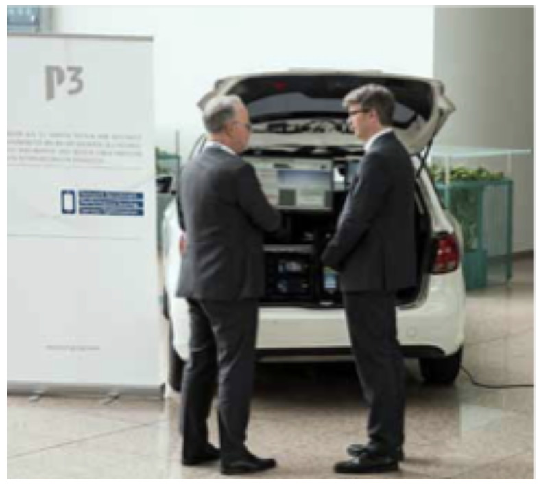P3 communications is constantly monitoring technological development – for example by regularly participating in industry events.