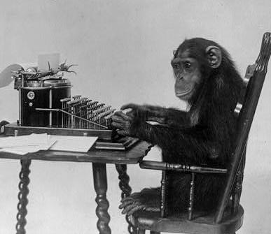 Technically a chimp