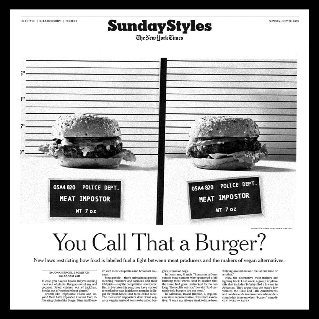 Cover illustration for NYT Styles - full article  here