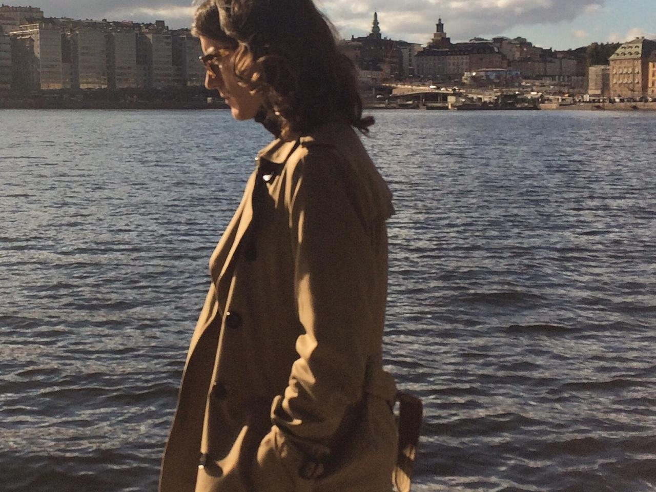 Sam in Stockholm, 2016.