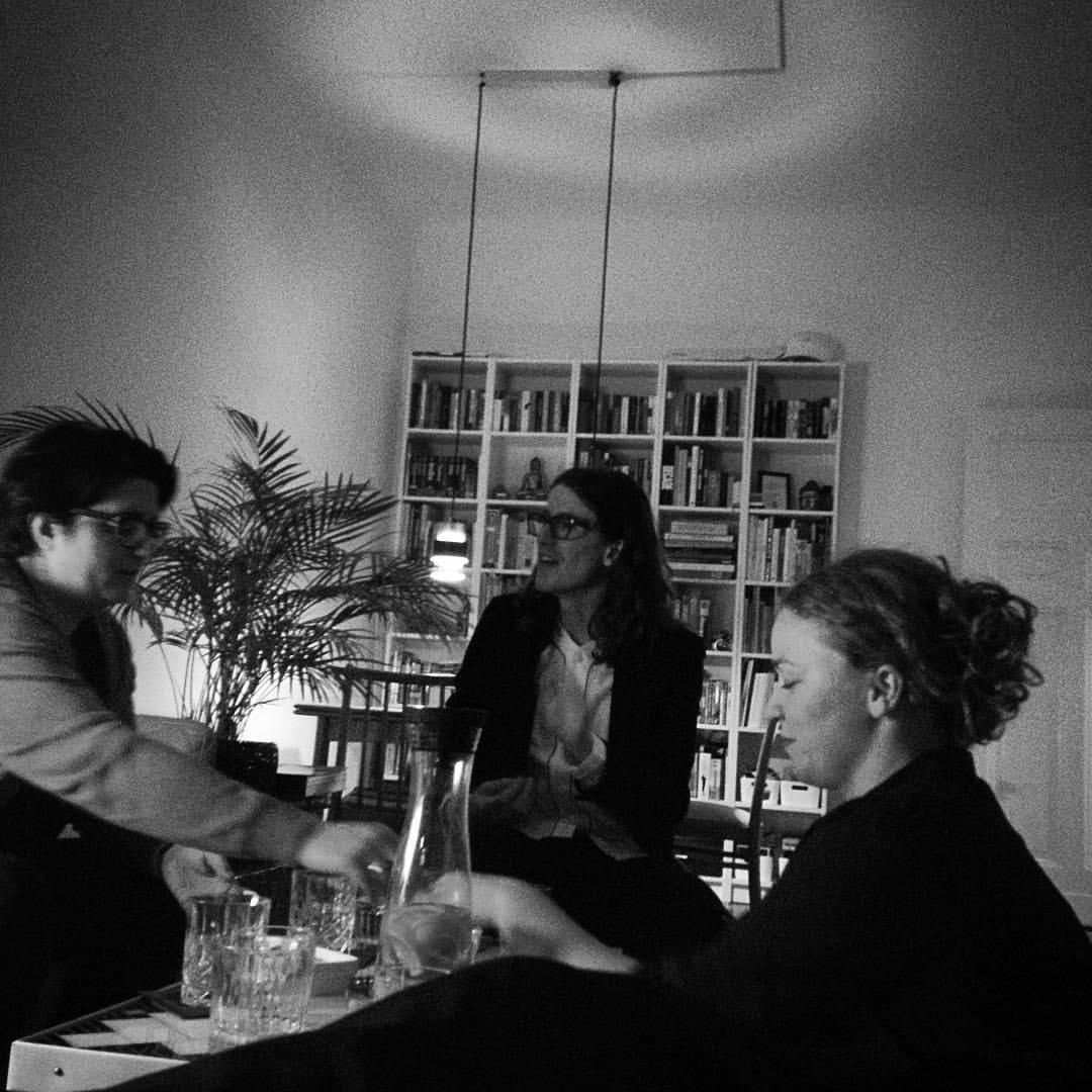 Berlin, 2016, Agnes, Ewa and Sam. (at Berlin - Kreuzberg)