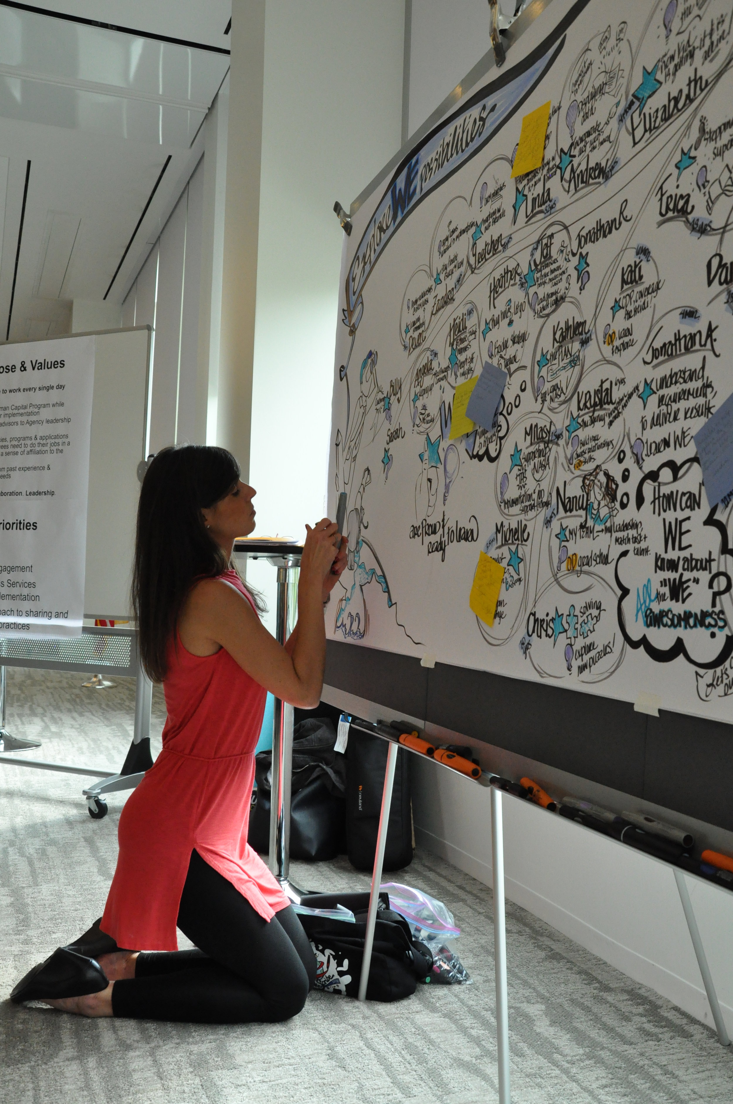 .the listening art of the graphic recorder. contemplative. memorable.