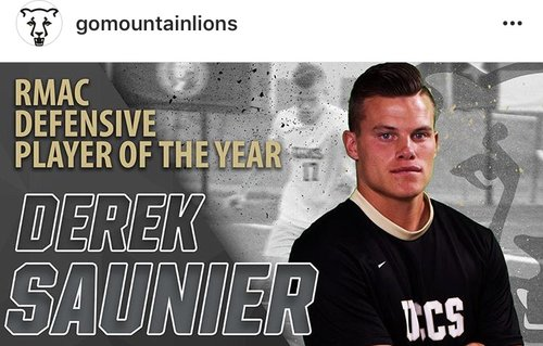 Derek Saunier - Derek Saunier had an outstanding NCAA division 2 career! With this, he was in hopes that his talents, hard work and awards would be appreciated here in the US but that was not the case. Derek proves that players outside of top division 1 schools CAN and ARE good enough to continue their career! After many offers, Derek finally signed with a third tier club overseas where he finds himself an anchor of the team.