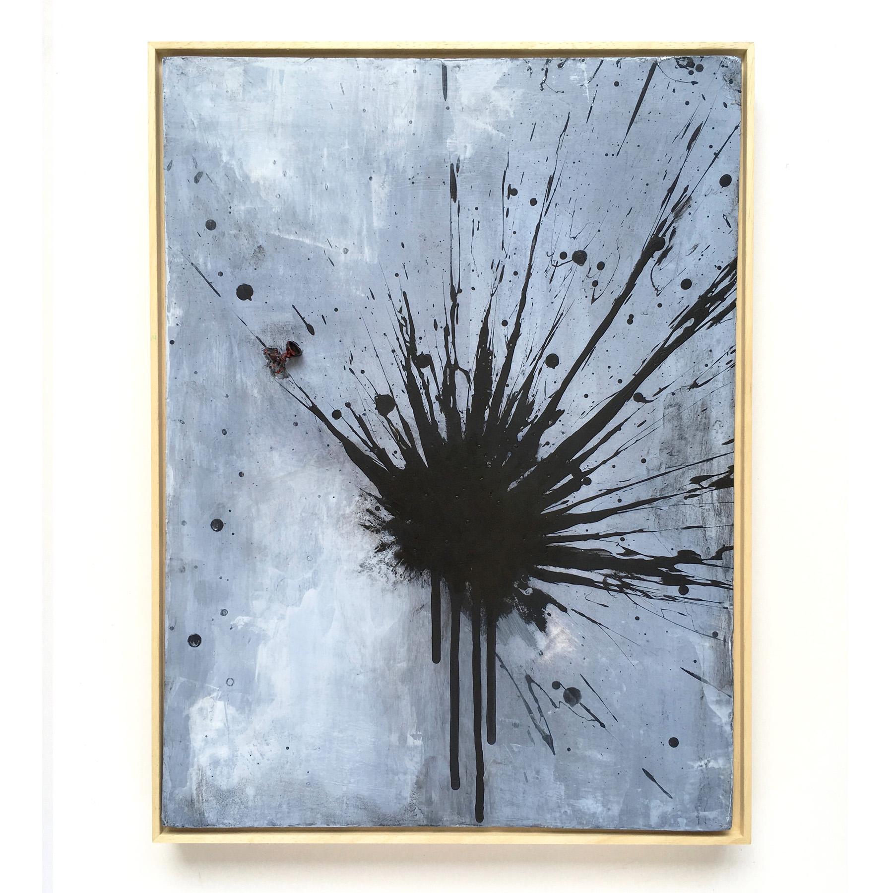 Black Firework Painting 23.09.19