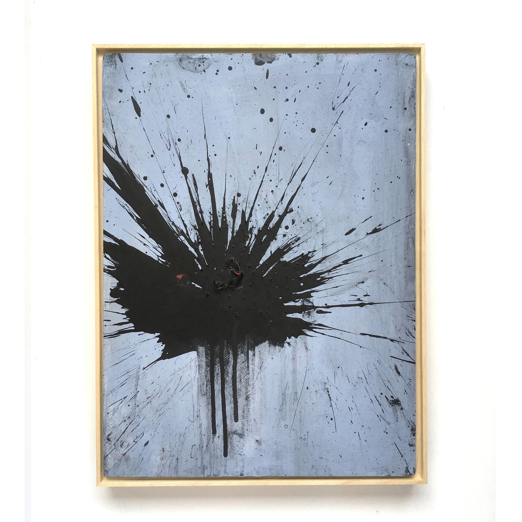 Black Firework Painting 17.09.19