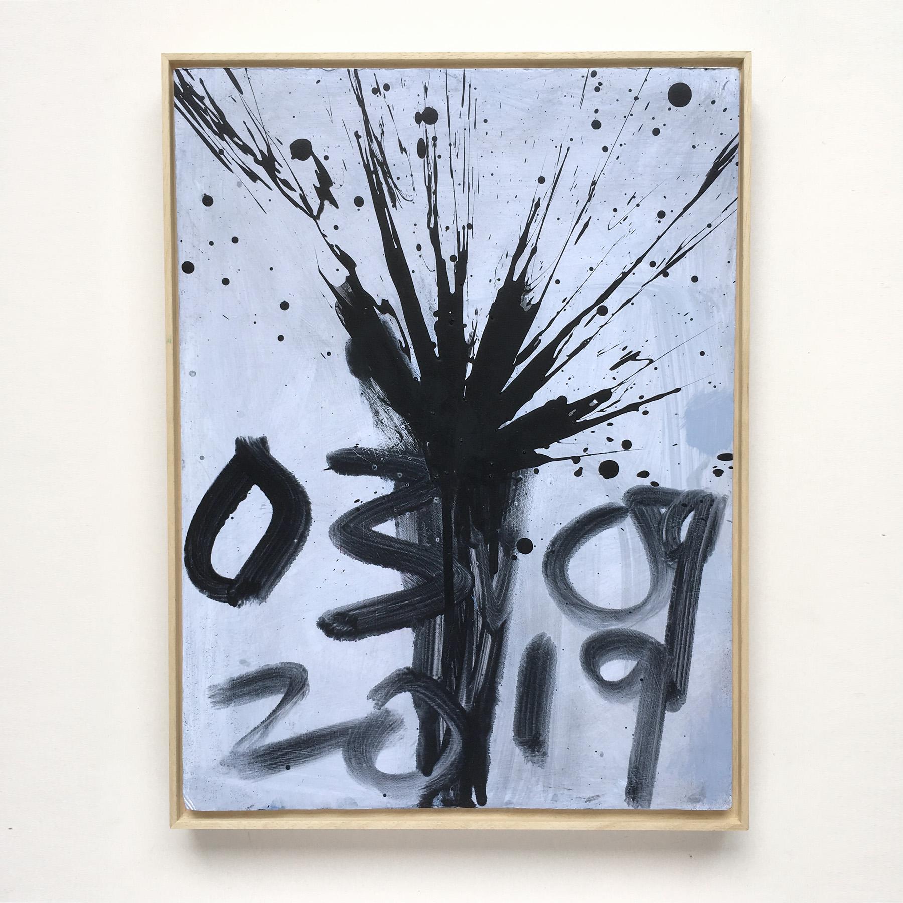 Black Firework Painting 03.09.19