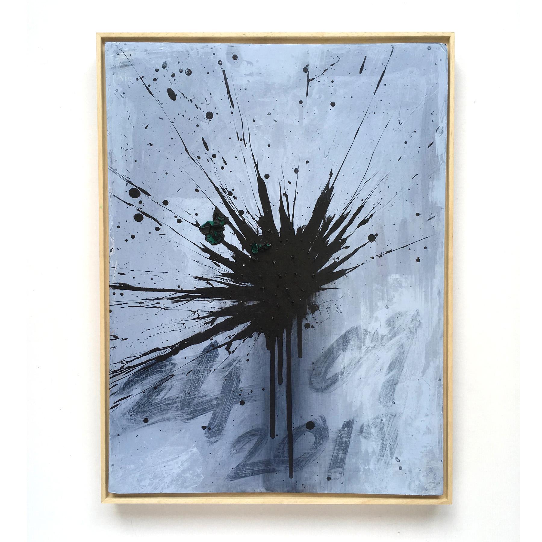 Black Firework Painting 24.09.19