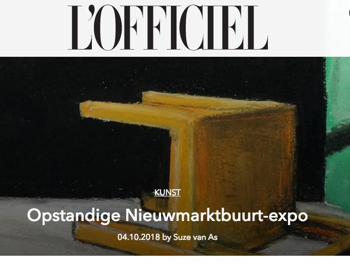 L'OFFICIEL - -Opstandige nieumwarktbuurt-expo-Read here
