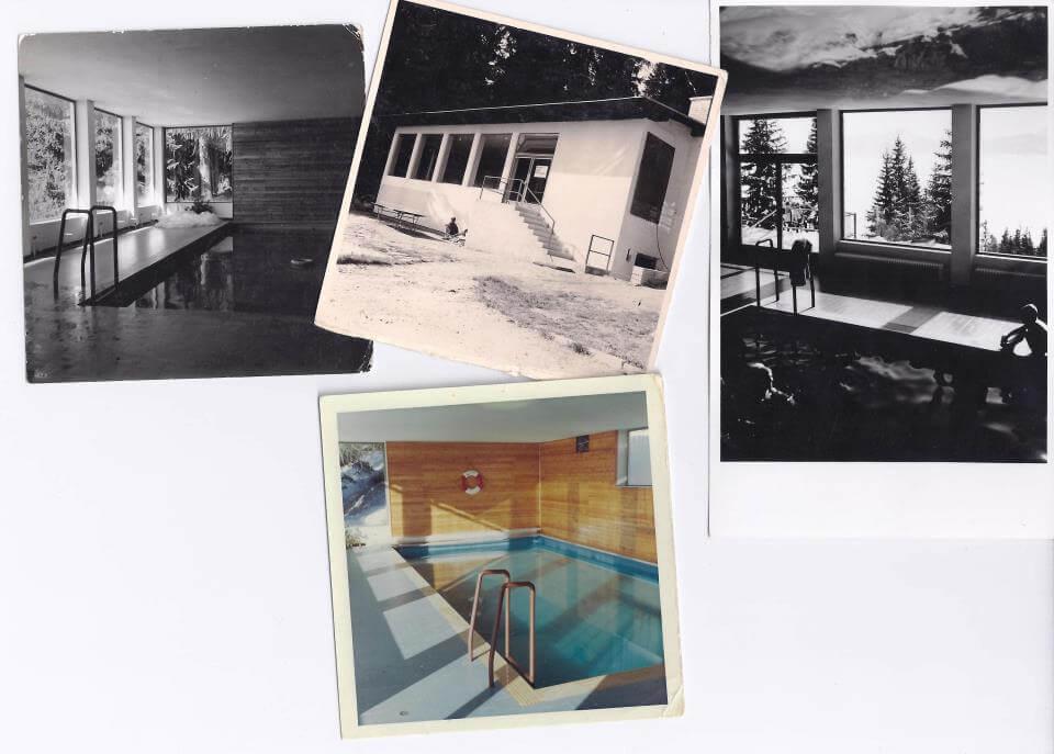 Hat Franz Zaubek eines der ersten Hotelhallenbäder in Kärnten gebaut