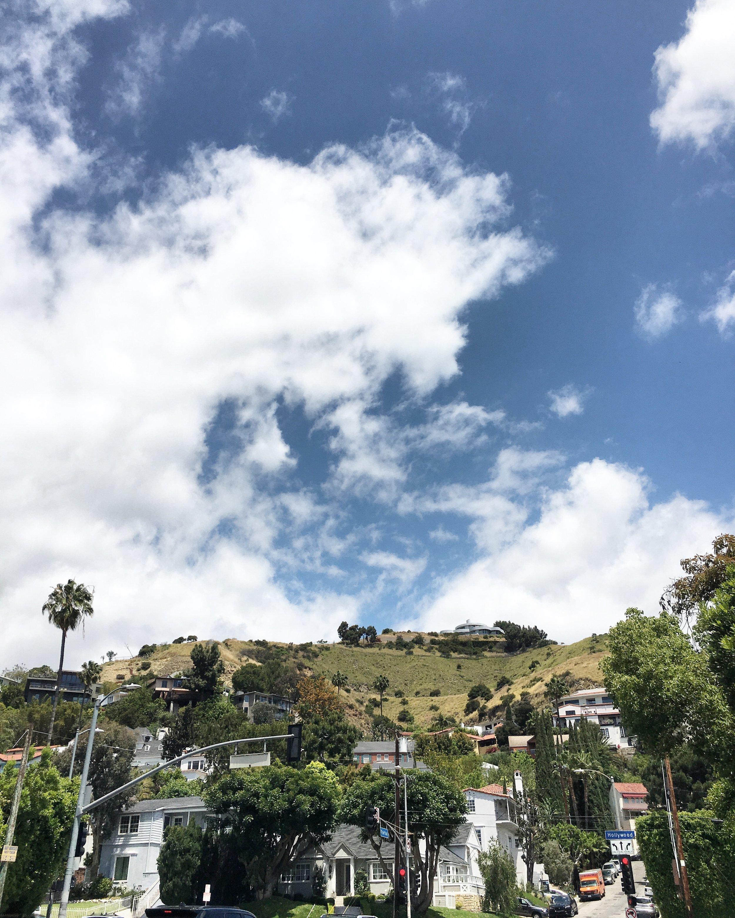 Hollywood Hills from Hollywood Blvd.JPG