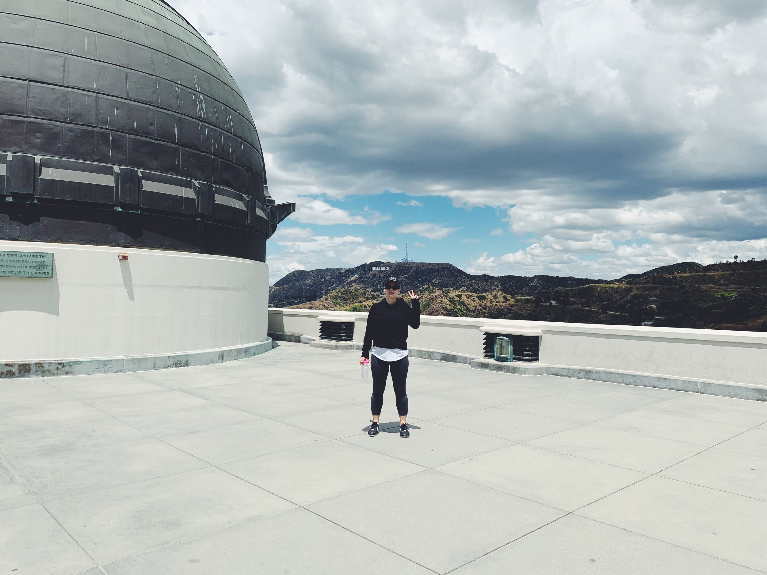Griffith Observatory Hike Hollywood Sign.JPG