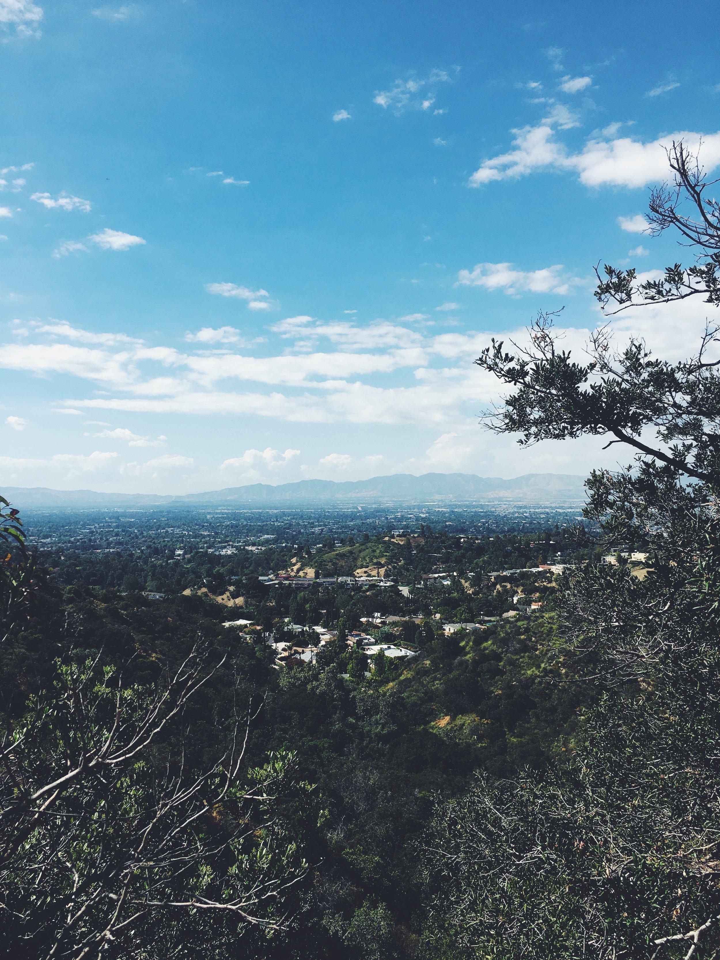 Mulholland Drive Secret Hike Mountain Views.JPG