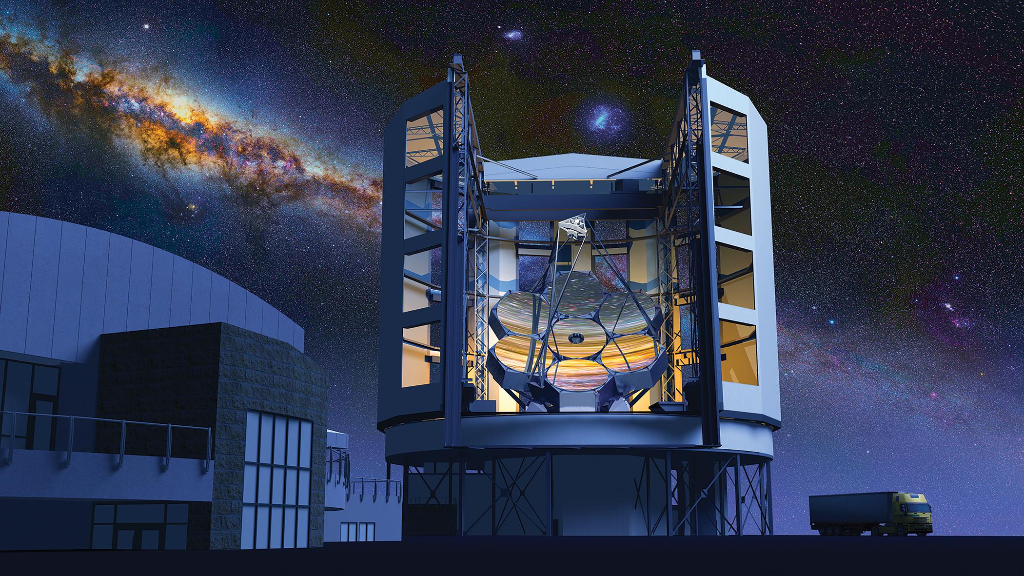 Credit: Giant Magellan Telescope—GMTO Corporation