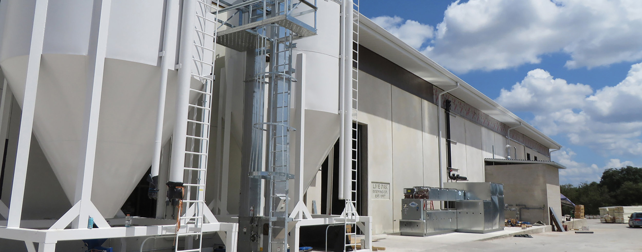 Live Oak's new state-of-the-art brewery opened to the public in February 2016. Located in Southeast Austin, it features a taproom and biergarten.