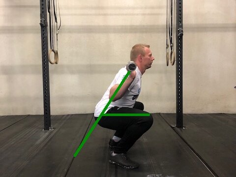 High Bar Back Squat