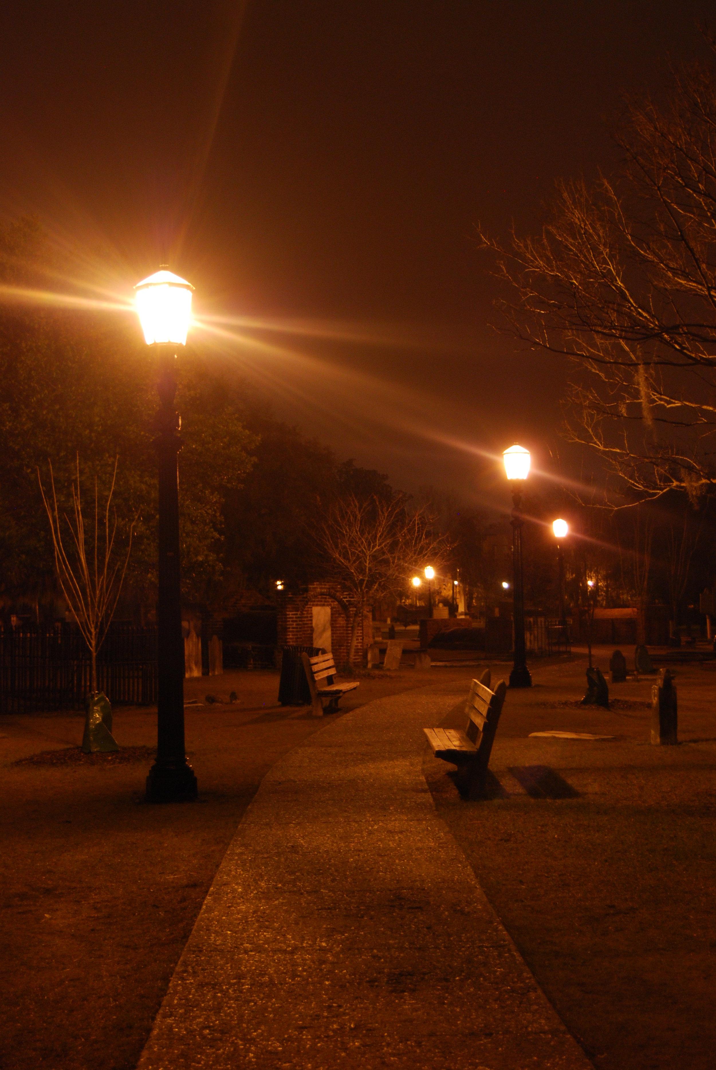 A Path through Evening  Savannah, GA