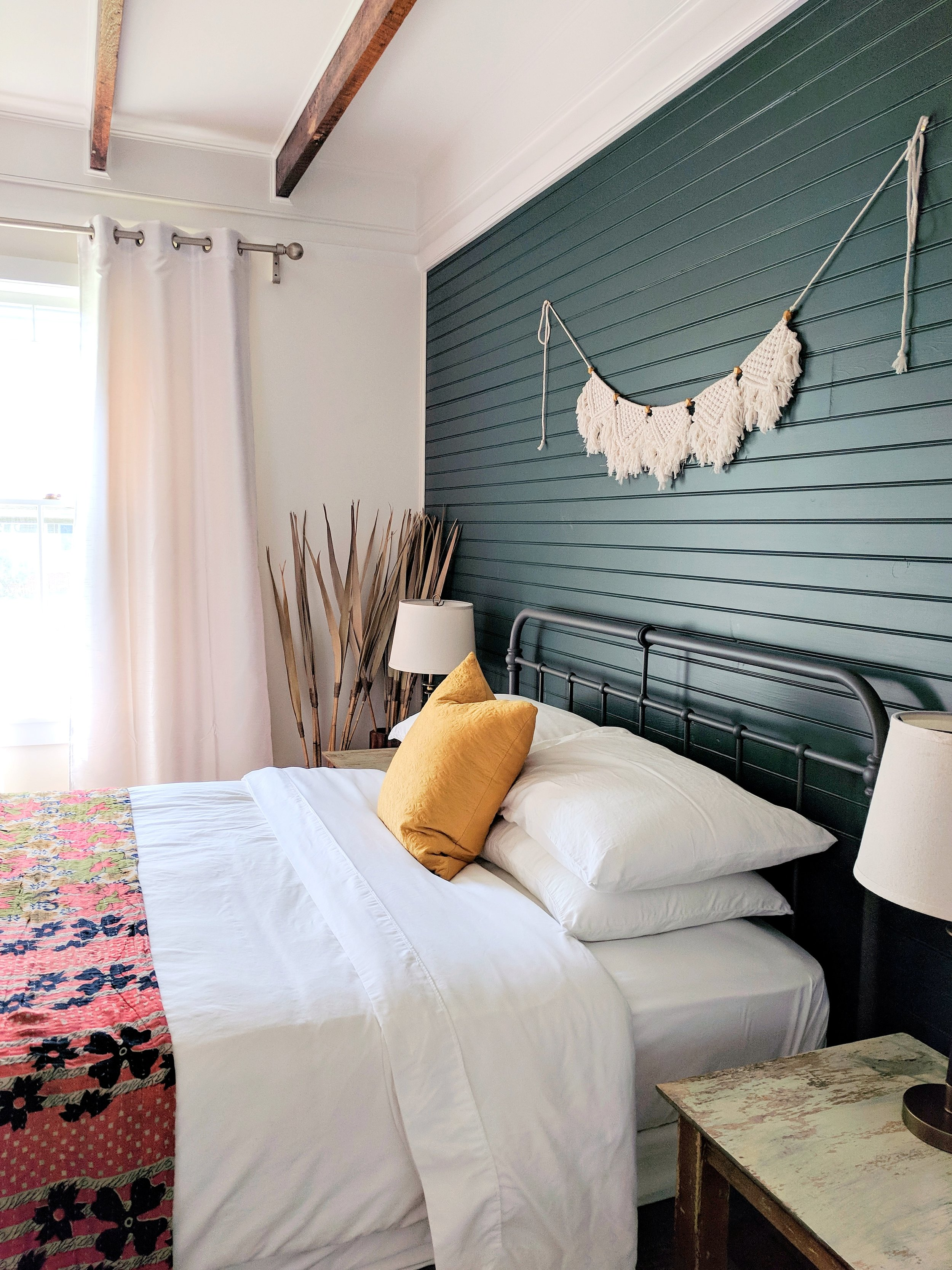 Content Co Bohemian Modern Airbnb Guest Bedroom