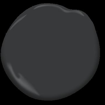 Benjamin Moore Mopboard Black CW-680