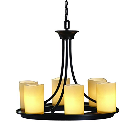 Oil Rubbed Bronze 6 Light Chandelier