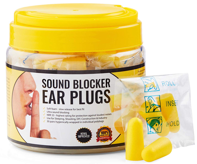 30 pairs of earplugs $13.95