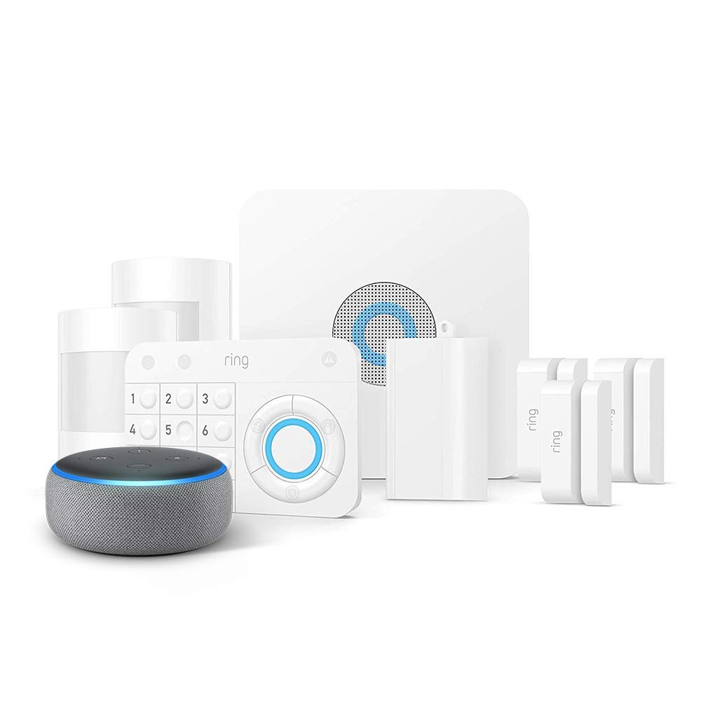 Ring Alarm 8 Piece Kit & Echo Dot -