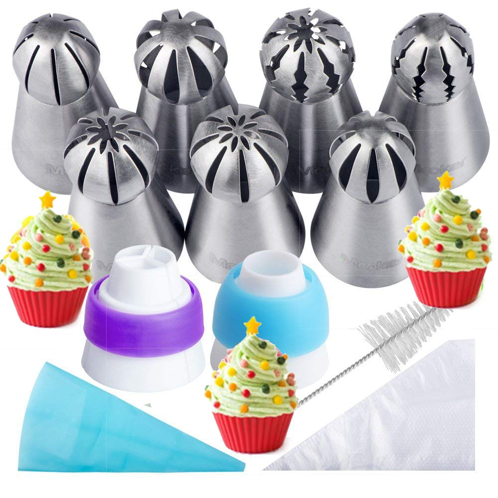 Baker's Cake Piping Decorating Kit -