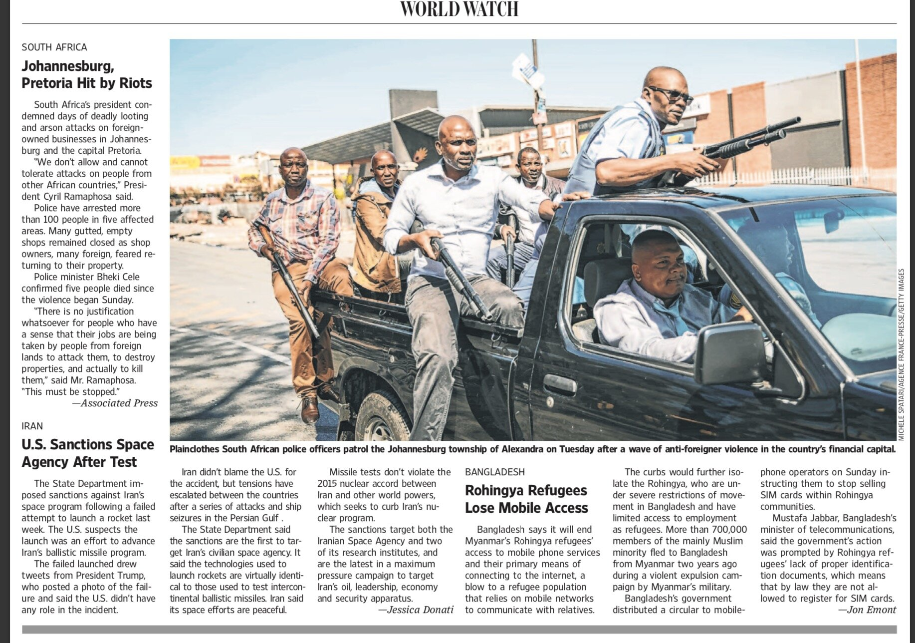 The Wall Street Journal - 04/09/2019