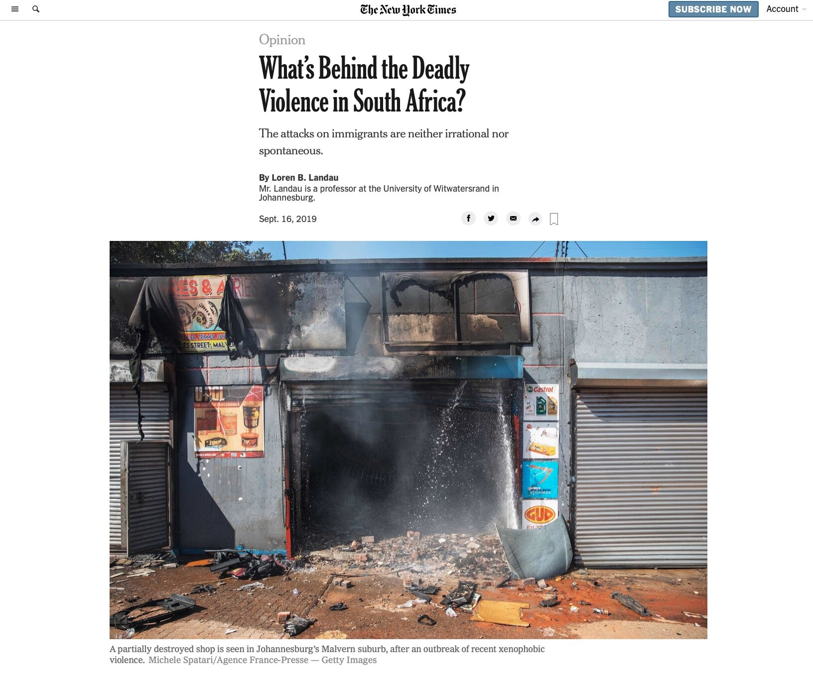 The New York Times - 16/09/2019