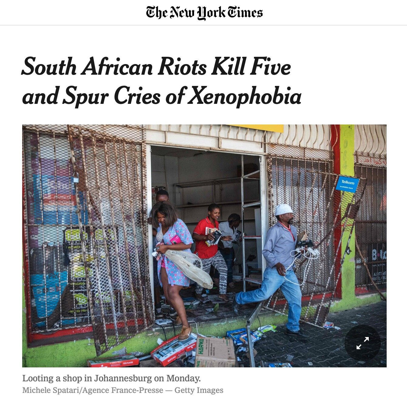 The New York Times - 03/09/2019