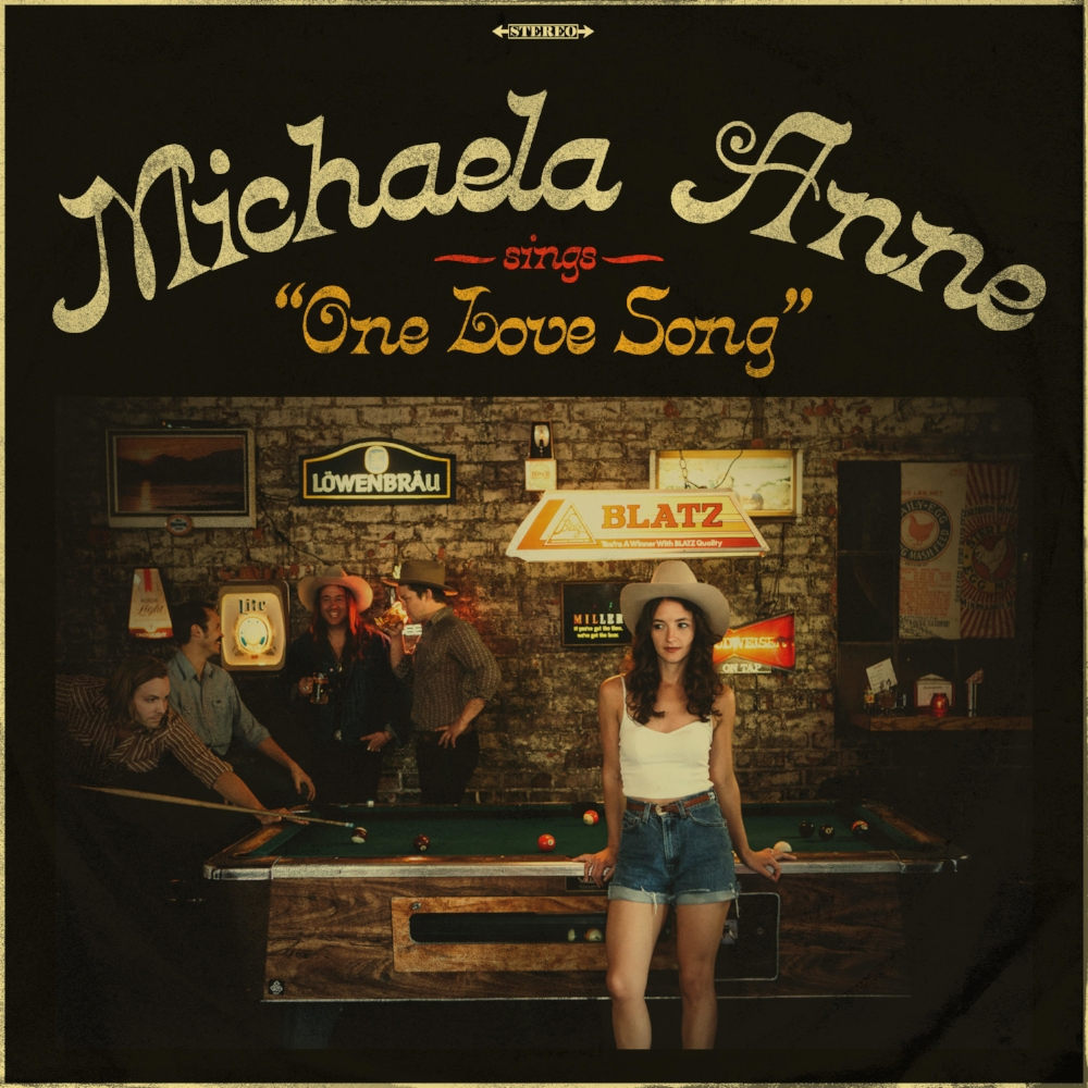 Michaela Anne - One Love Song cover.jpg