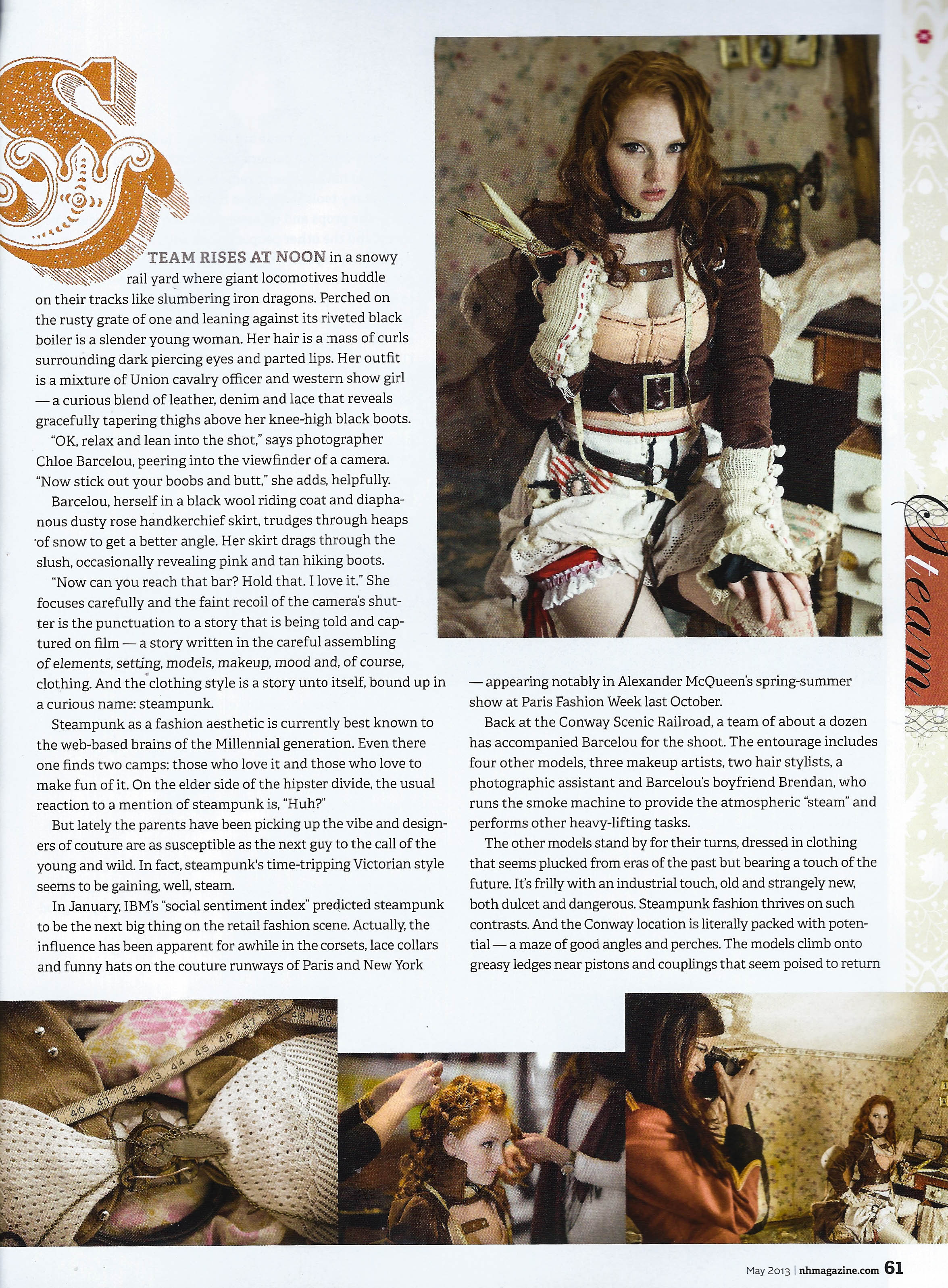 Chloe Barcelou for New Hampshire Magazine
