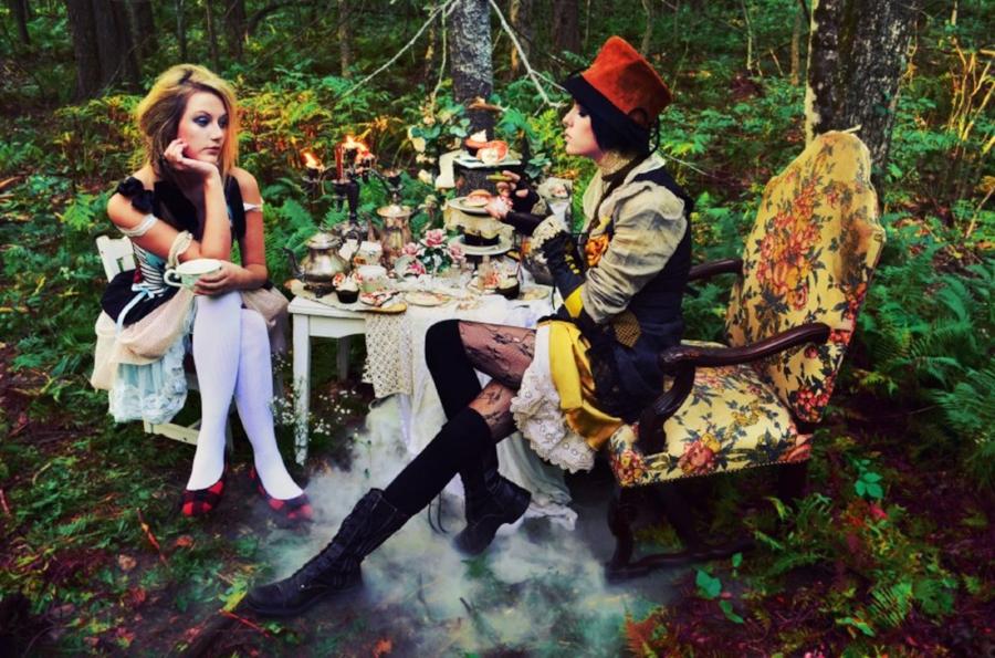 Alice in Wonderland, by Chloe Barcelou