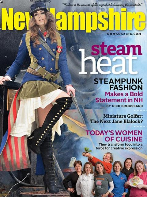 Chloe Barcelou for New Hampshire Magazine March 2012