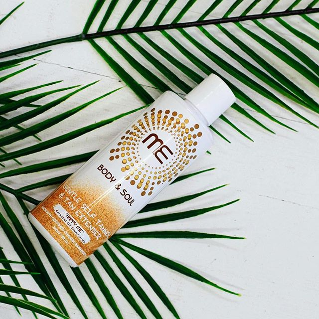 Happy ME ☀️🍃 . . . #tanextender #selftanner #palmtrees #skincare #organicbeauty #beauty #bestself #happyme #goodvibes #mebodyandsoul
