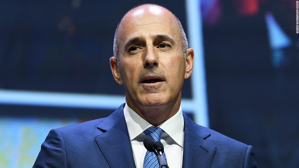 Was Matt Lauer terminated for sexual misconduct or sexual harrassment? What is the difference?  (Image: CNN Money)