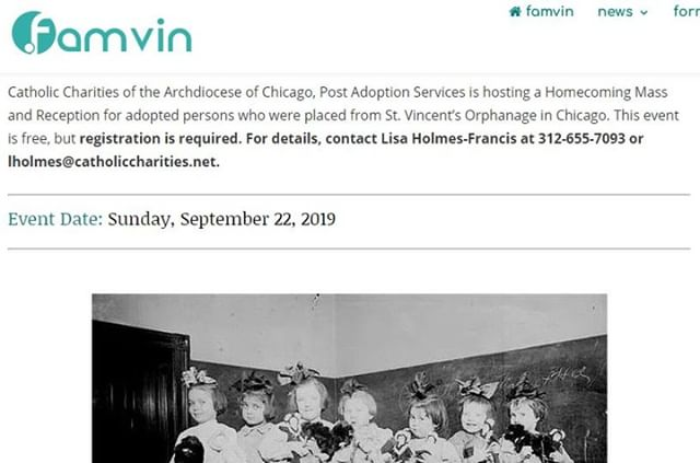 It's nice to see that the word on next month's post-adoption homecoming mass and reception is spreading! We hope it will be a time that blesses many. - Learn more: bit.ly/33QhqWb. Famvin article: bit.ly/2z6v3lR