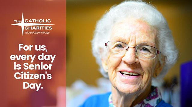 World #SeniorCitizensDay was last Wednesday, but we celebrate our seniors every day of the year! Leave a comment about what your favorite senior means to you. And visit www.catholiccharities.net for more info on how you can help us serve this wonderful segment of our population.