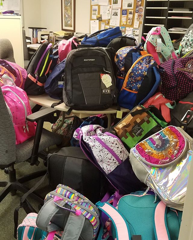 This month's #LakeCounty School Supplies Drive was a success! Over 500 backpacks of supplies were distributed to #children in the community as a result of the generous support & #donations of our many partners--like you! Thank you for helping us kick off the school year this way.