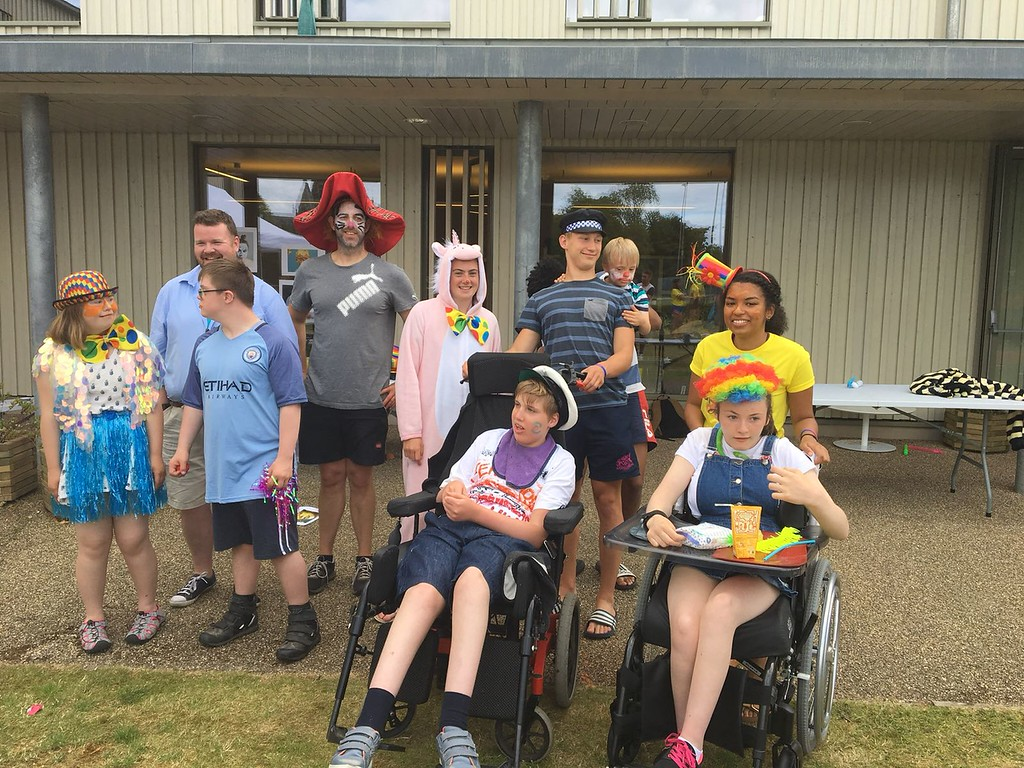 A group of our holiday makers and volunteers from our first holiday in 2018