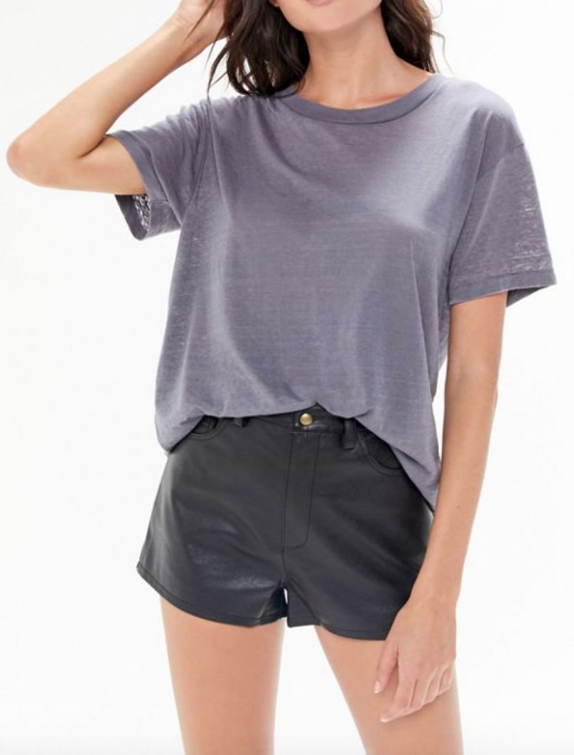 Might I suggest: UO Faux Leather High-Waisted Short from Urban Outfitters
