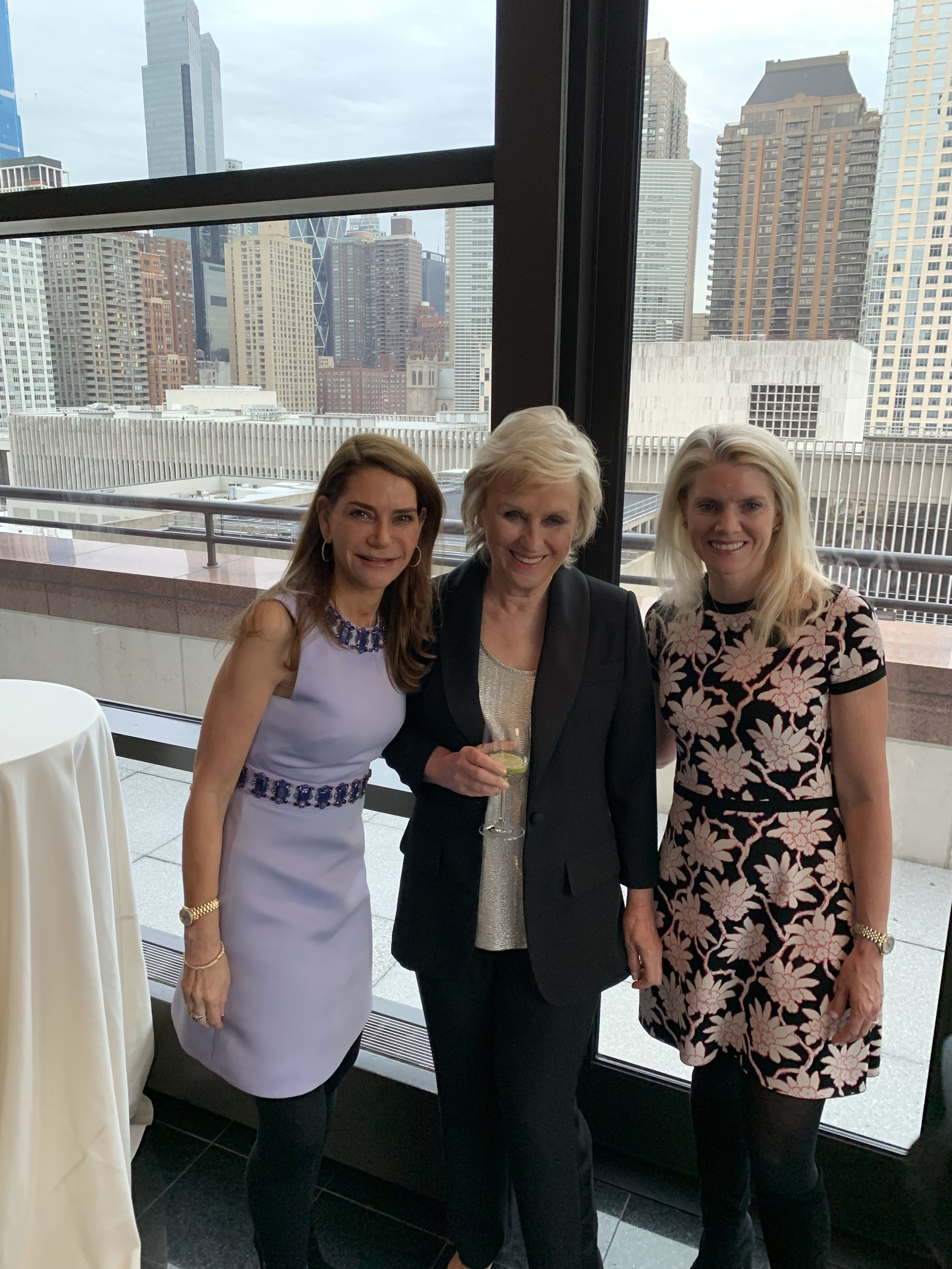 UBS Women In The World dinner with Tina Brown and Wendy Holmes