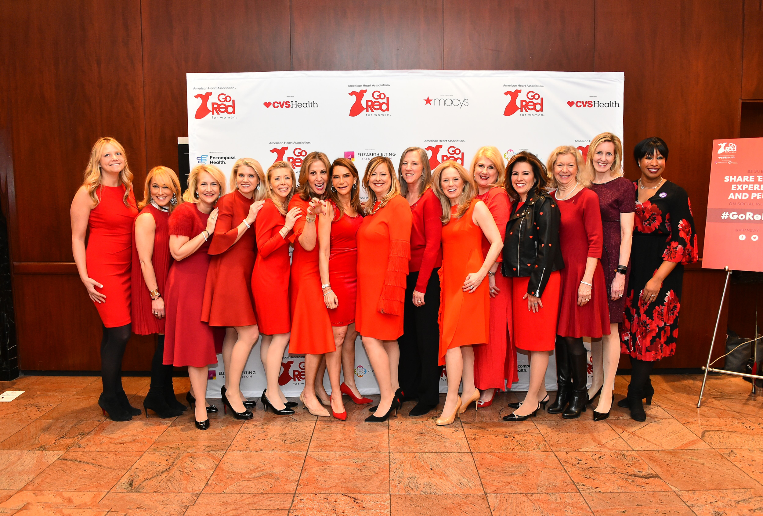 2019 NYC Go Red For Women Luncheon