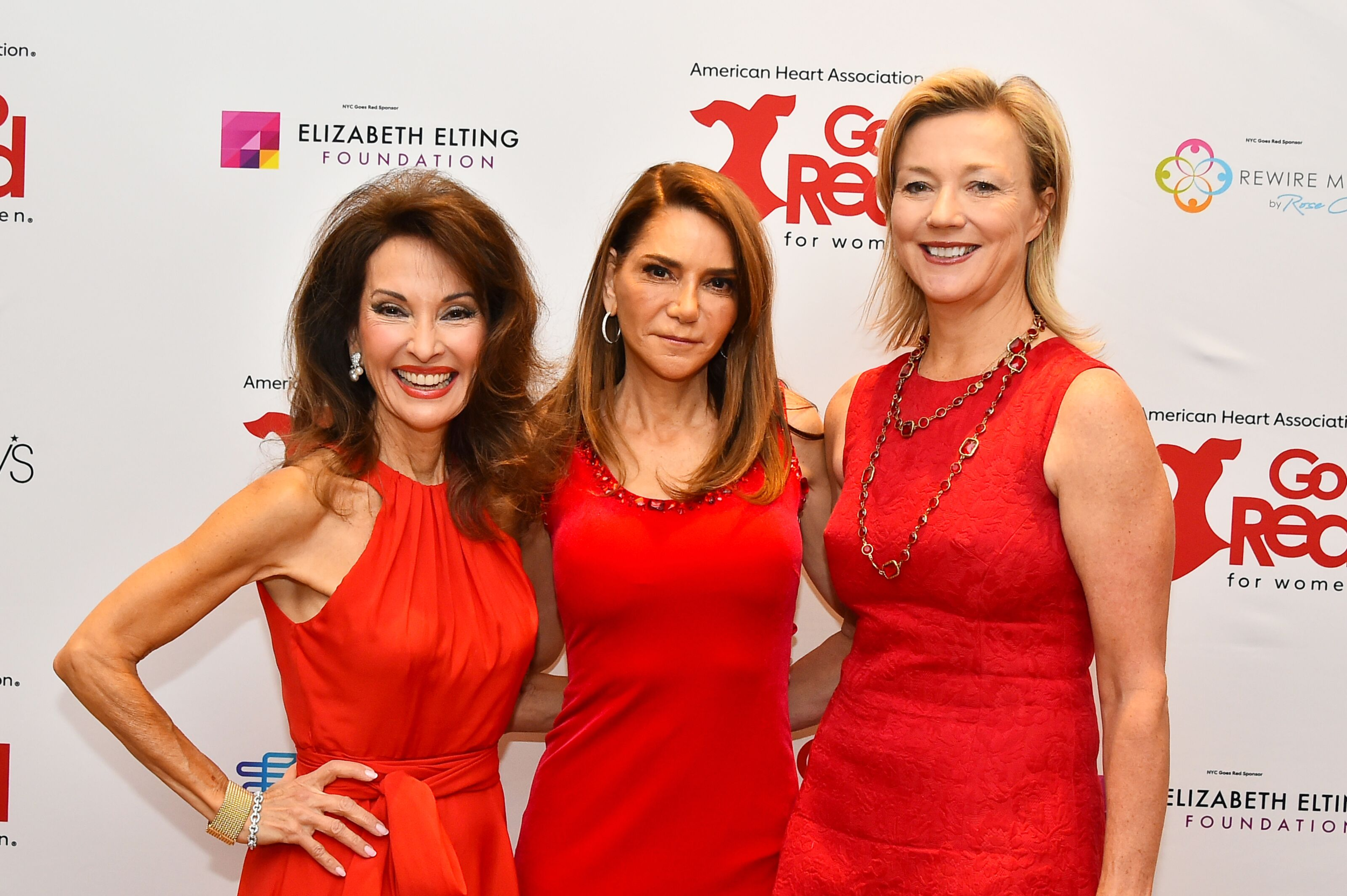 Susan Lucci, Me, and Dr. Holly Andersen at the 2019 NYC Go Red for Women Luncheon