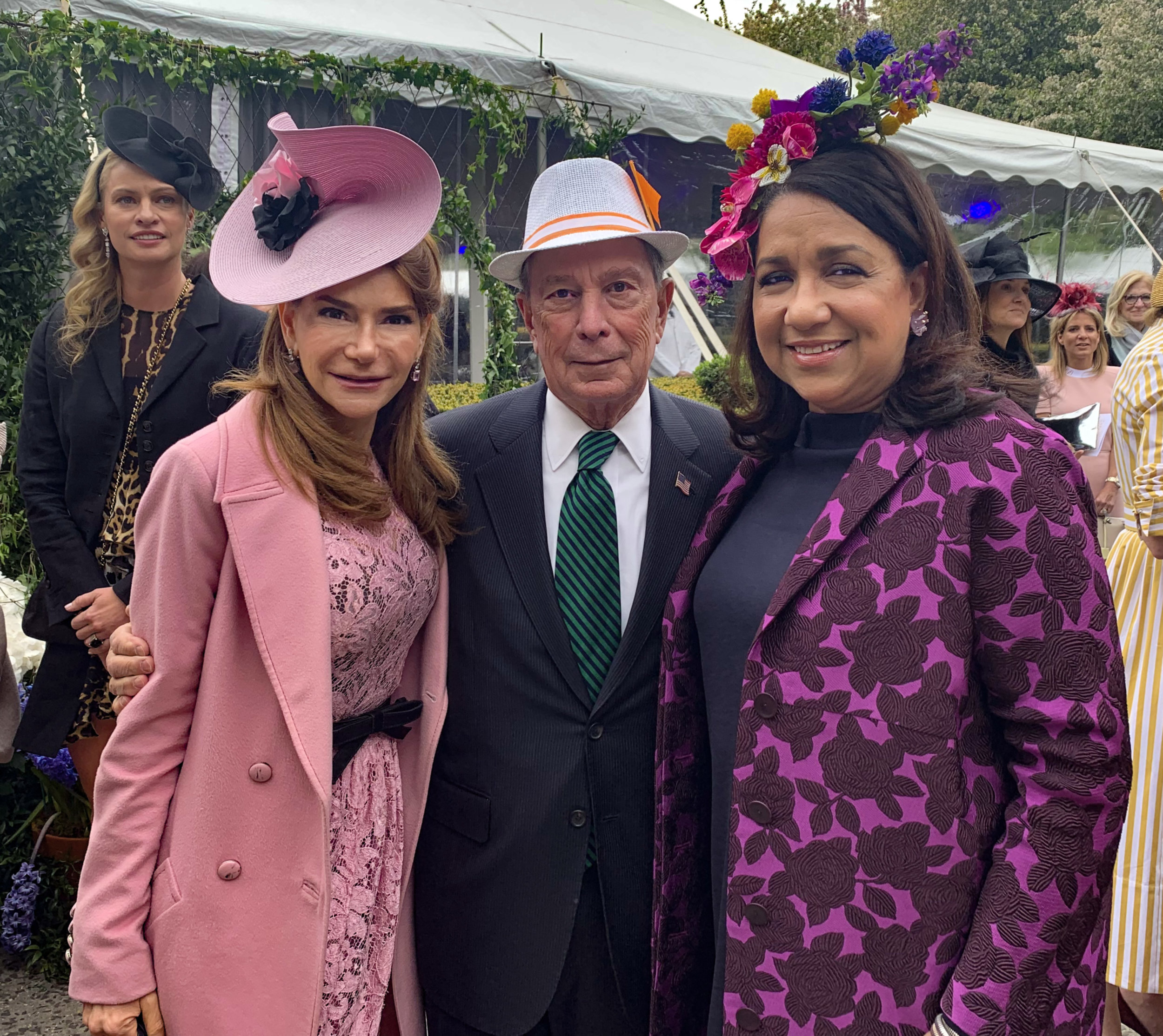 With Michael Bloomberg at the 2019 Central Park Conservancy Frederick Law Olmstead Awards Luncheon